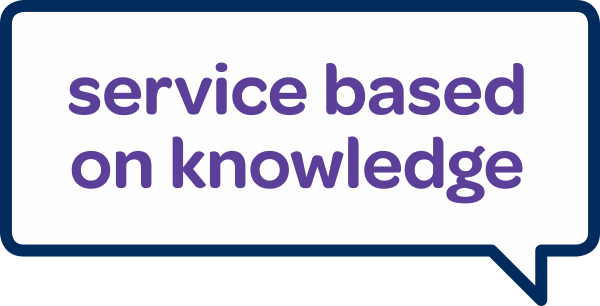 service based on knowledge